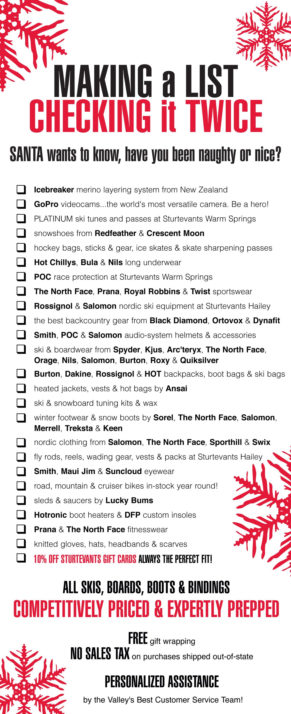 Santas List 2012